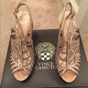 Vince Camuto studded stiletto heels